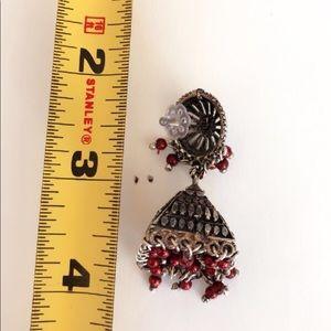 Jewelry - Tibetan silver Indian jhumki earnings